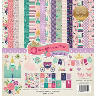 Echo Park, Once Upon A Time Princess - Collection Kit 12x12