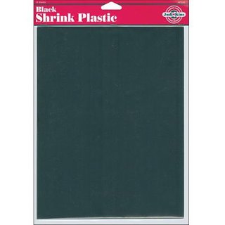 Shrink Plastic, Black