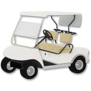 Jolees Dimensional Embellishments, Golf Cart