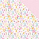 Bella Blvd, Designpapier, Cute Baby Girl - Pretty As A Posie
