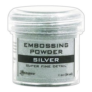 Ranger, Embossingpulver - 34ml - silver super fine