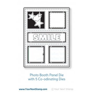 Your Next Stamp, Photo Booth Panel Die Set