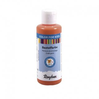 Rayher, Fingerfarbe 150ml - orange