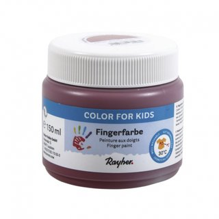 Rayher, Fingerfarbe 150ml - erdbraun