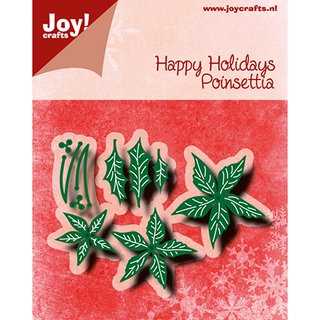 Joy! Cutting & Embossingschablone - Poinsettia