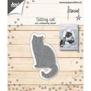 Joy! Cutting & Embossingschablone - Katze