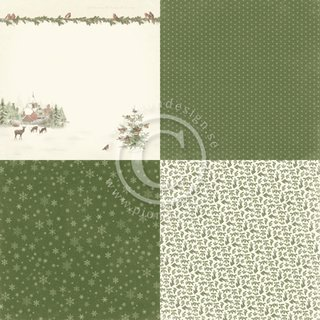 PIONDesign, Lets be Jolly - 4x 6x6 - Winter Wonderland