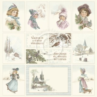 PIONDesignpapier, Winter Wonderland II - Images from the Past