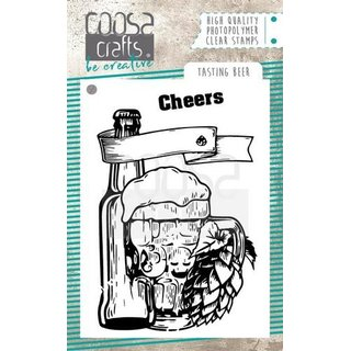 COOSA Crafts Clearstamps, Tasting bear
