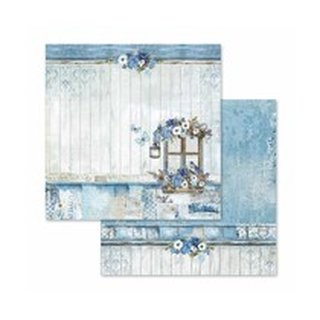 tamperia, Designpapier, 30,5 x 30,5  - Blue Land - Window