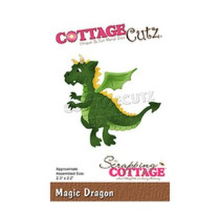 Cottage Cutz, Stanzschablone - Magic Dragon