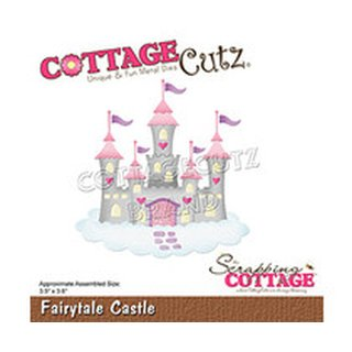Cottage Cutz, Stanzschablone - Fairytale Castle