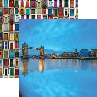 Reminisce, Designpapier, Great Britain - Tower Bridge