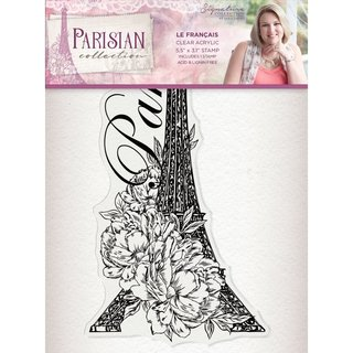 Sara Signature Collection Parisian - A6 Acrylic Stamp - Le Francais