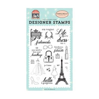 Carta Bella, Clearstamp, Fashionista