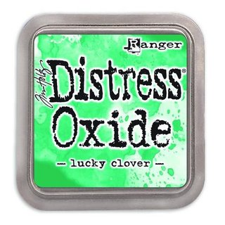 Distress Oxide by Tim Holtz - lucky clover