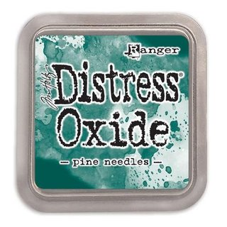 Distress Oxide by Tim Holtz - pine needles
