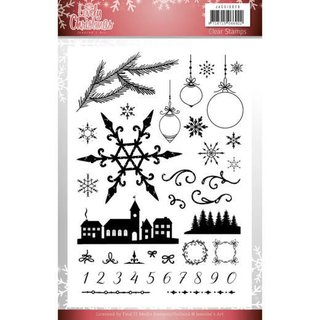 Jeanines Art, Clearstamps, Lovely Christmas