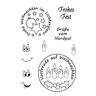Efco, Clearstempel, Frohes Fest