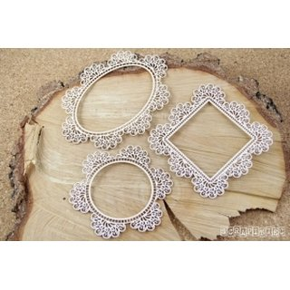 Scrapiniec, Chipboards Doily Lace