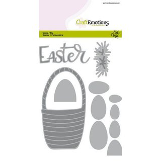 CraftEmotions, Stanzschablone - Easter