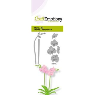 CraftEmotions, Stanzschablone - Orchidee
