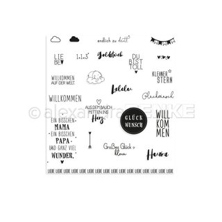 Renke, Clear Stamps - CLEAR STAMP BABY WORLD
