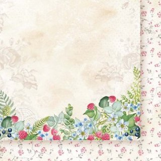 Papiru, Designpapier, Berry Hunt Flowers - 06