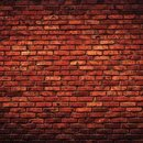 Ella & Viv, Designpapier - Deep Red Brick Wall