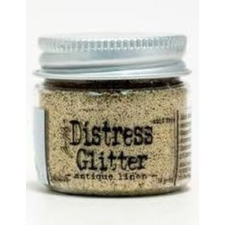 Tim Holtz Distress Glitter - Antique Linen