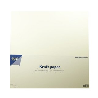 Joy! Crafts, Kraftpapier 30,5 x 30,5, 300grs, 20 Stk - weiss