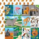 Carta Bella, Designpapier, Zoo Adventure - Multi...