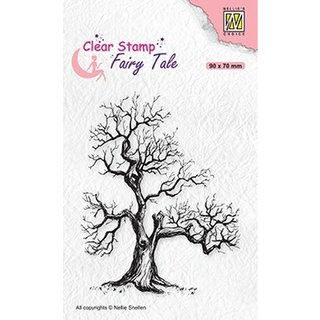 Nellies choice, Clearstamp - Elves Tree 90x70cm