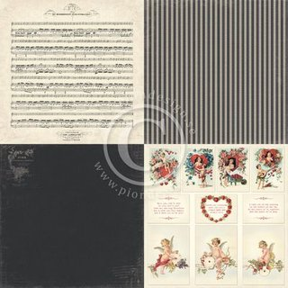 PIONdesign, Designpapier, Valentine - Love song
